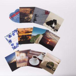 Set van 4 kaarten – serie 1